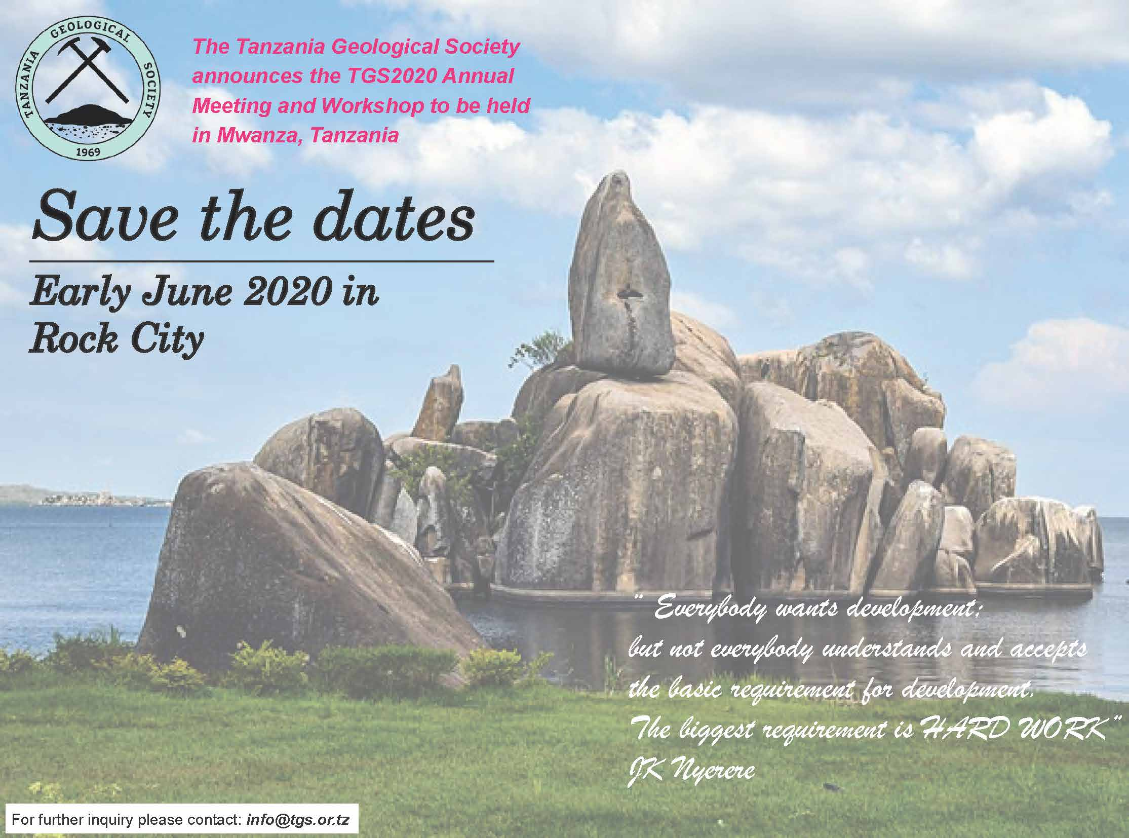 Tgs 2019 workshop and meeting   flyer %281%29   mwanza